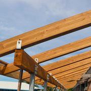 Travi lamellari in legno