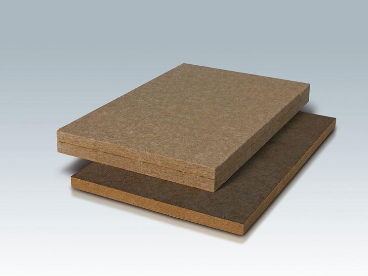 Esempio panelli in fibra di legno