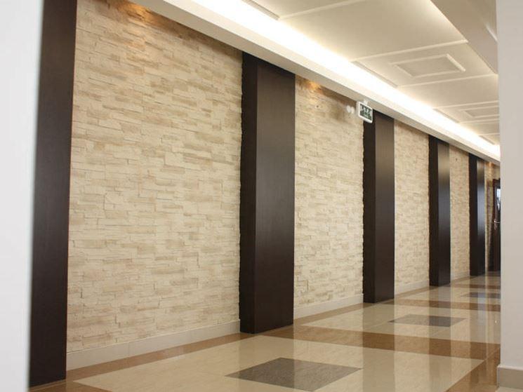 Pannelli poliestere effetto muro