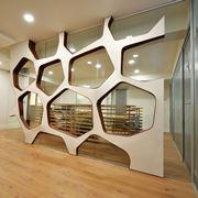 Esempio di divisori interni in legno