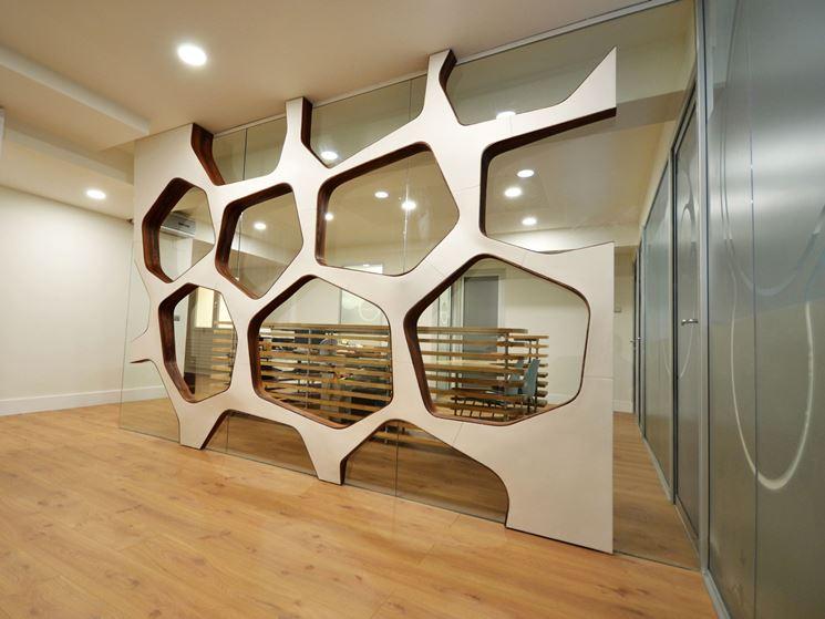 ... interni in legno - Pareti divisorie - installare divisori in legno per