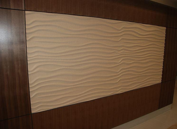 Pannello decorati a parete
