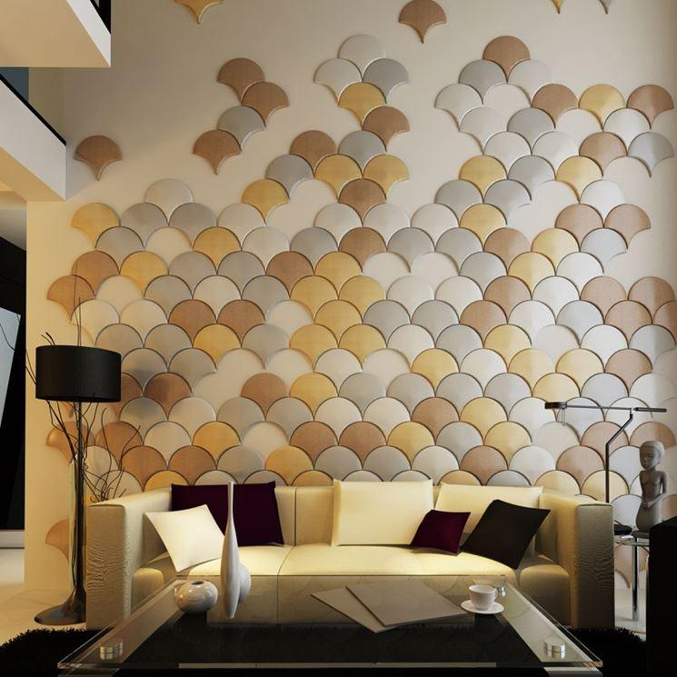 Esempio di pannelli per pareti