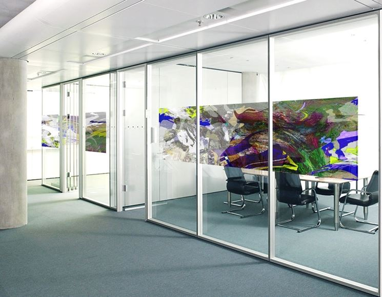 Pareti In Vetro In Offerta : Pareti di vetro divisorie arredare e dividere