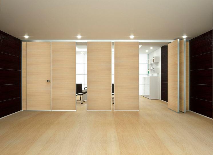 Pareti divisorie in legno pareti divisorie tipi di - Parete divisoria in legno per interni ...
