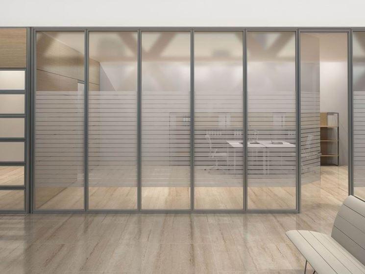 Pareti divisorie ufficio pareti divisorie tipologie di pareti divisorie per ufficio - Parete divisoria in vetro prezzi ...