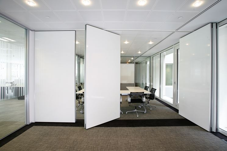 Pareti mobili in ufficio