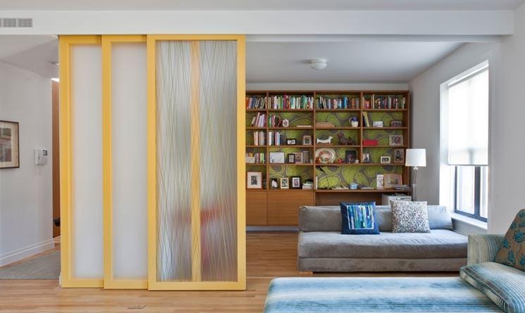 Pareti scorrevoli pareti divisorie tipi di pareti - Pareti divisorie mobili per abitazioni ...