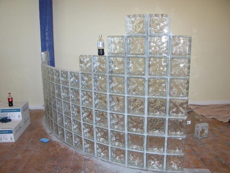 Pareti vetrate per interni pareti divisorie pareti - Pareti divisorie in vetro per interni casa prezzi ...