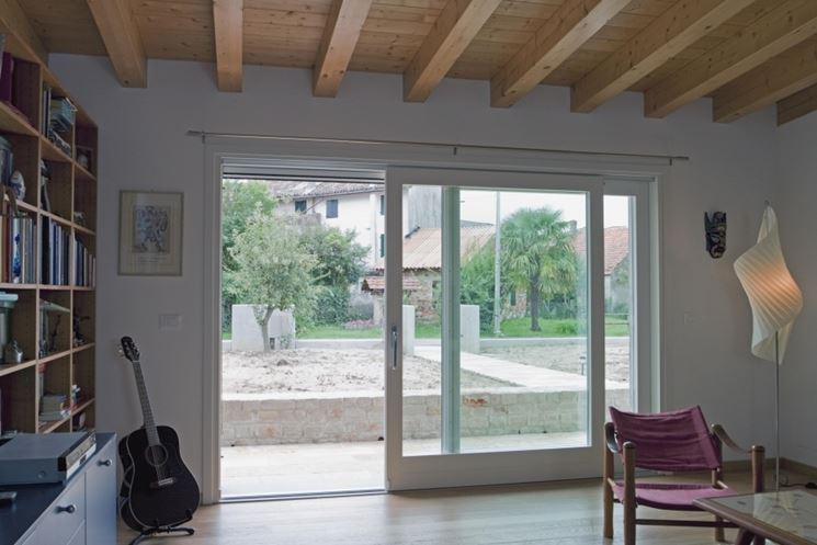 Vetrate scorrevoli pareti divisorie vetrate scorrevoli - Porta scorrevole vetro offerta ...