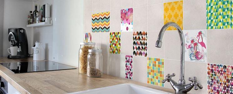 Adesivi per piastrelle - Pareti e muri - Decorazione piastrelle