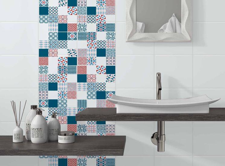 Adesivi per piastrelle pareti e muri decorazione - Adesivi per piastrelle ...