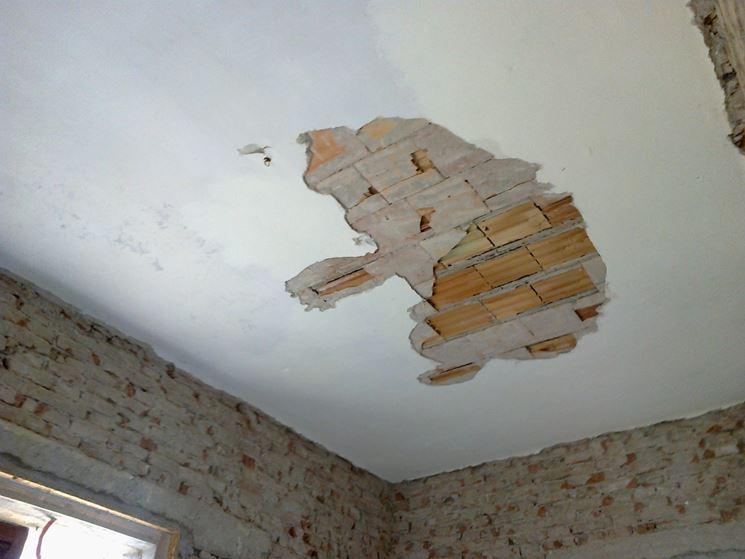 Intonaco soffitto