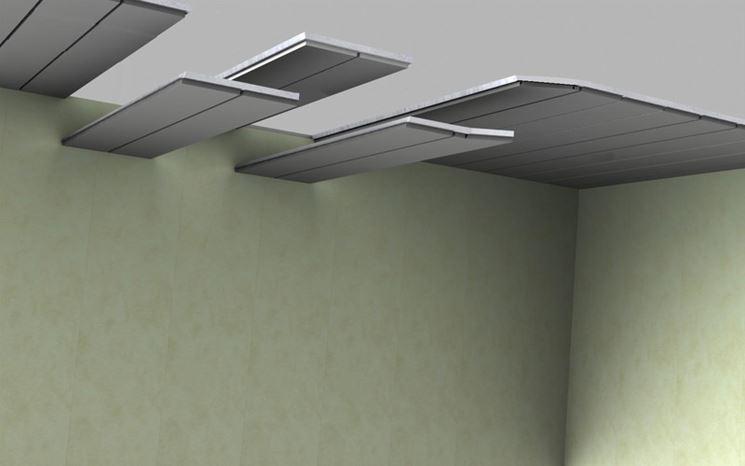 Assemblaggio pannelli di rivestimento