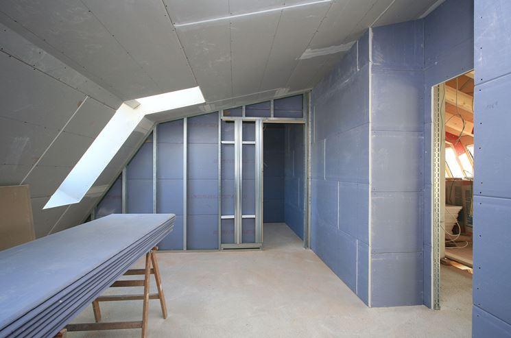 Favoloso Pareti divisorie cartongesso - Pareti e muri - Realizzare pareti  XI71