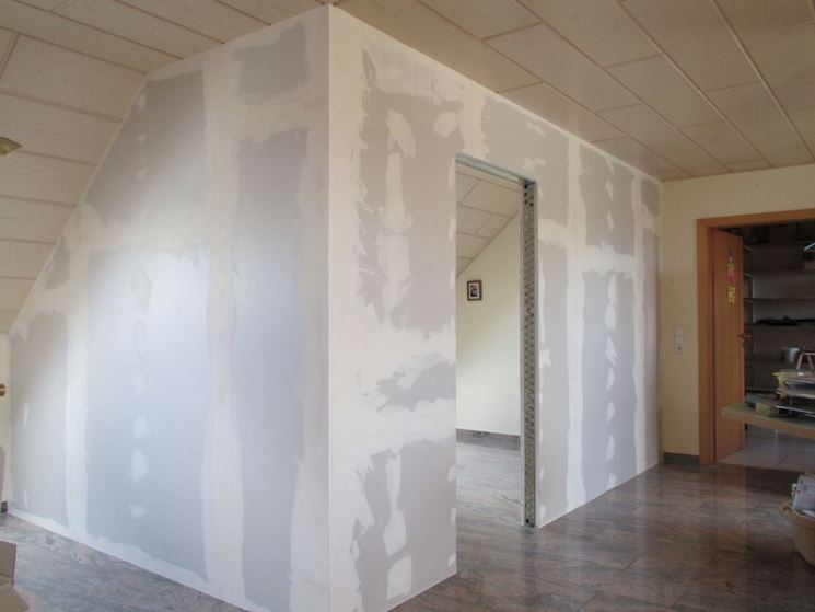 parete divisoria in cartongesso