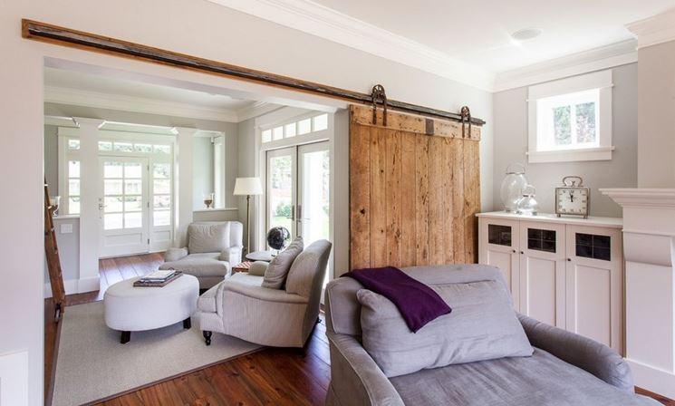 Pareti divisorie mobili possono dividere gli spazi interni