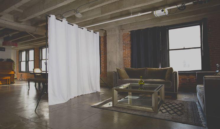 Le pareti divisorie mobili creano privacy nei loft