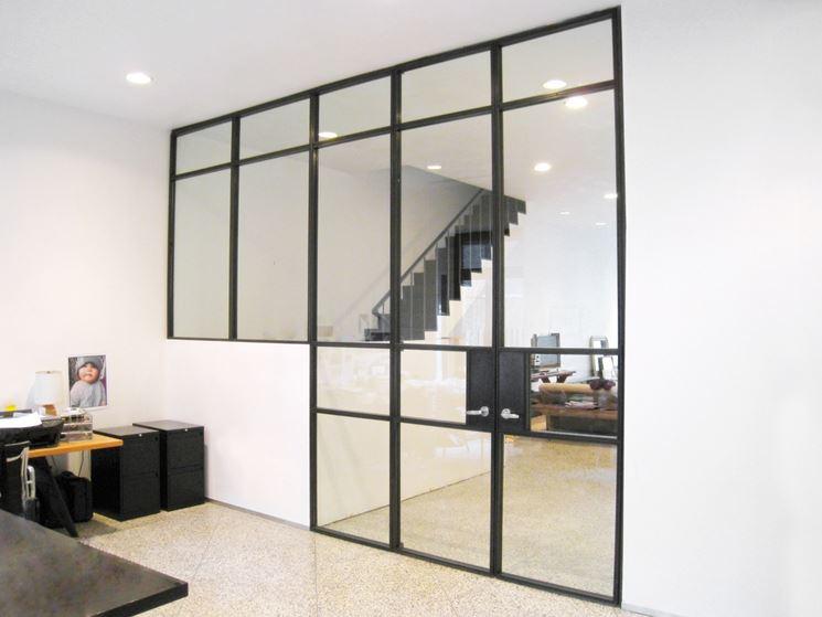 abbastanza Pareti in vetro - Pareti e muri - Pareti in vetro per interni OJ33