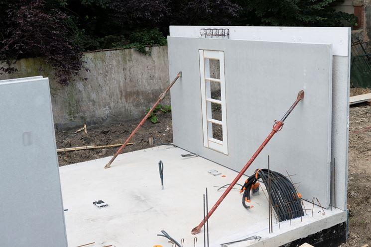 Installazione pareti prefabbricate