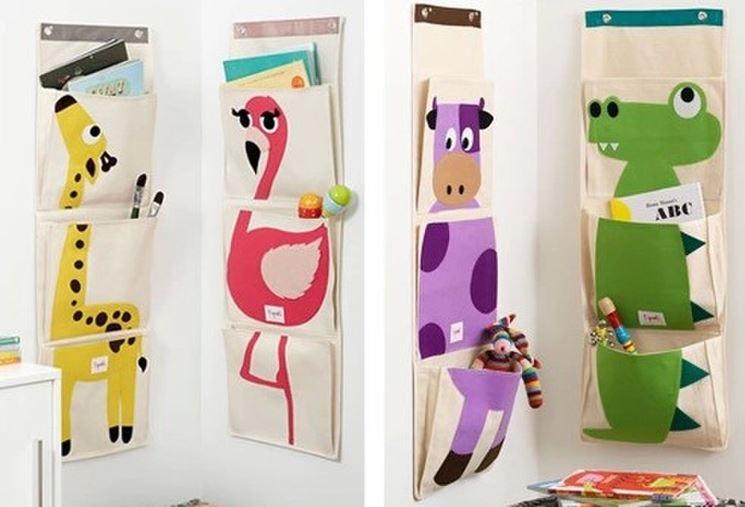 Colorati portaoggetti pareti