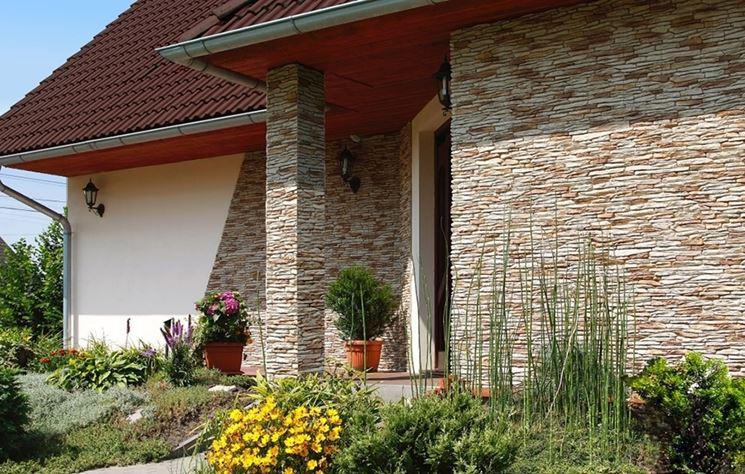 Rivestimenti esterni pareti e muri tipi di for Ascensori esterni per case al mare
