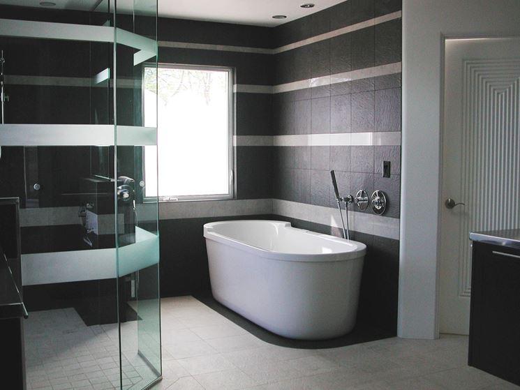 Rivestimento moderno del bagno