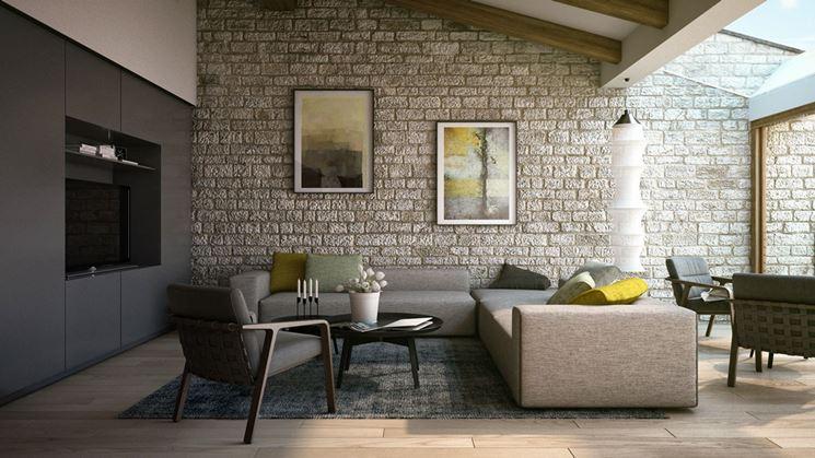 Rivestimento pareti in pietra