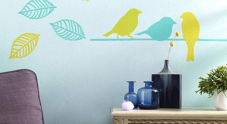 stencil per pareti pareti e muri realizzate stencil su pareti