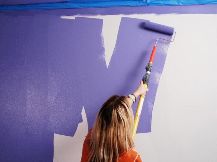 Colorazione pareti