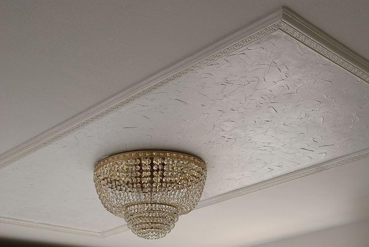 Soffitto con pittura ai silicati