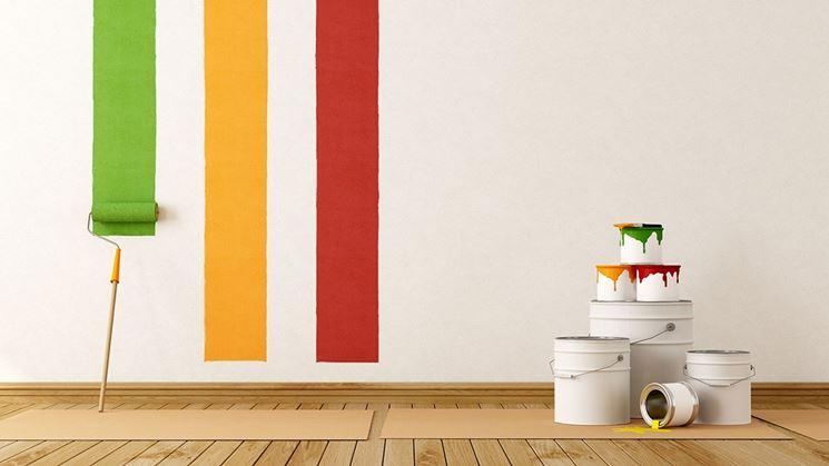 Verniciatura pitturare casa come verniciare for Pitturare muri di casa