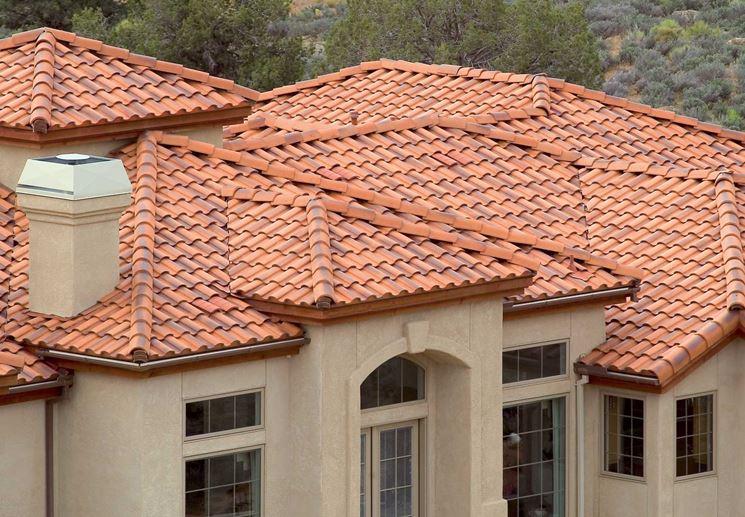 Esempio tetto a effetto bicromato