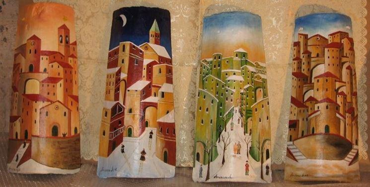 Tegole dipinte