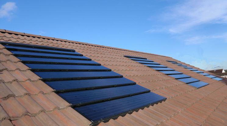 Tipo di tegole fotovoltaiche